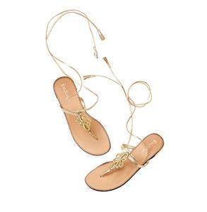 Lilly Pulitzer Pier Strappy Gladiator Sandals